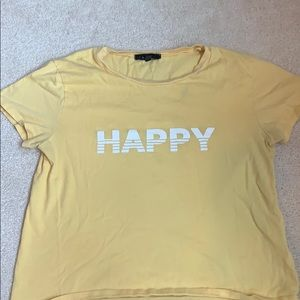 Happy t-shirt from pacsun